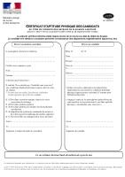 certificat d 39 aptitude physique pour les candidats au permis de conduire des bateaux de plaisance. Black Bedroom Furniture Sets. Home Design Ideas