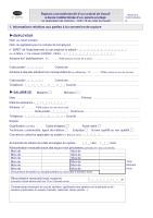 fa64229b60e Demande d autorisation d une rupture conventionnelle d un contrat de travail  à durée indéterminée (CDI) d un salarié protégé - Cerfa n°14599 01